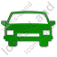 Car Plain Green Icon