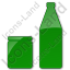 Drinks Jar Bottle Plain Green Icon