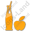 Drinks Juice Plain Orange Icon