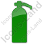Fire Extinguisher Plain Green Icon