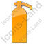 Fire Extinguisher Plain Orange Icon