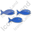 Fish Hatchery Plain Blue Icon