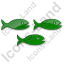 Fish Hatchery Plain Green Icon