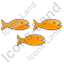 Fish Hatchery Plain Orange Icon