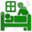 Hospice Plain Green Icon