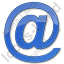 Internet Plain Blue Icon