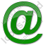 Internet Plain Green Icon