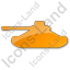 Military Plain Orange Icon