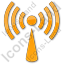 Radio Plain Orange Icon