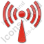 Radio Plain Red Icon