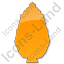 Shrub Plain Orange Icon