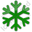 Snow Plain Green Icon
