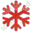 Snow Plain Red Icon, PNG/ICO, 64x64
