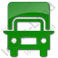 Truck Plain Green Icon