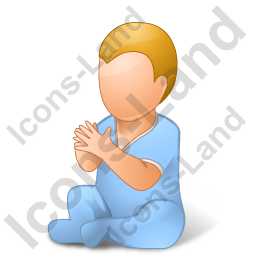 Baby Male Light Icon