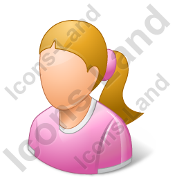 Child Female Light Icon