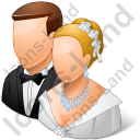 Group2 Married Couple Light Icon