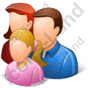 Group3 Parents Child Light Icon
