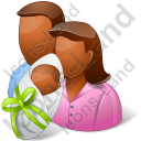 Group3 Parents Newborn Dark Icon