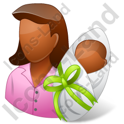 Group2 Mother Newborn Dark Icon, PNG/ICO, 256x256