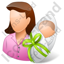 Group2 Mother Newborn Light Icon