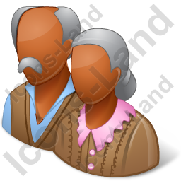 Group2 Retirees Dark Icon, PNG/ICO, 256x256
