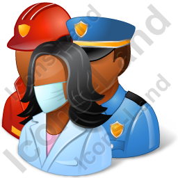 Group3 Rescuers Dark Icon, PNG/ICO, 256x256