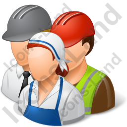 Group3 Workers Light Icon