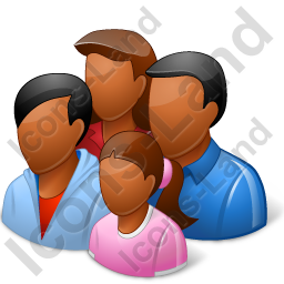 Group4 Family Dark Icon