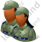 Group2 Army Soldiers Dark Icon
