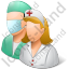 Group2 Health Professionals Light Icon, PNG/ICO, 64x64