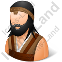 Barbarian Male Icon, PNG/ICO, 128x128