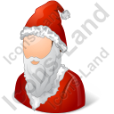 Santa Claus Male Icon