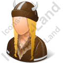 Viking Female Icon