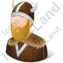 Viking Male Icon