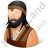 Barbarian Male Icon, PNG/ICO, 48x48