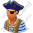 Pirate Male Icon
