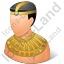 Ancient Egyptian Citizen Male Icon