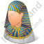 Ancient Egyptian Pharaoh Male Icon