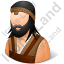 Barbarian Male Icon, PNG/ICO, 64x64