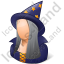 Wizard Female Icon