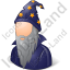Wizard Male Icon