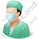 Surgeon Male Light Icon