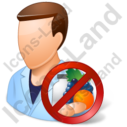 Allergist Male Light Icon