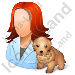 Veterinarian Female Light Icon