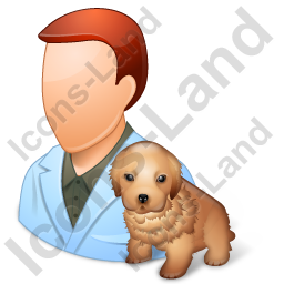 Veterinarian Male Light Icon
