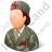 Army Nurse Female Light Icon