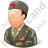 Army Nurse Male Light Icon, PNG/ICO, 48x48