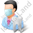 Dentist Male Light Icon
