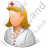 Nurse Female Light Icon